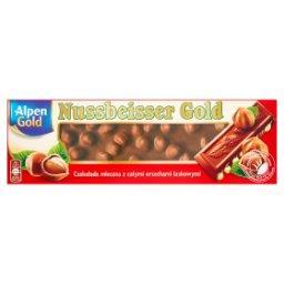 Nussbeisser Gold Czekolada mleczna z całymi orzechami laskowymi