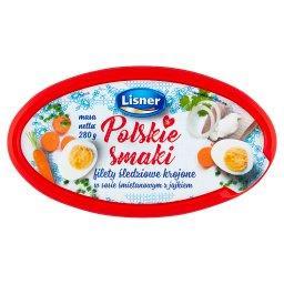 Polskie Smaki Filety śledziowe krojone w sosie śmietanowym z jajkiem
