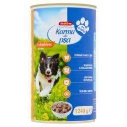 Pełnoporcjowa karma dla dorosłych psów z drobiem w sosie