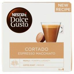Dolce Gusto Cortado Espresso Macchiato Kawa w kapsułkach 100,8 g (16 sztuk)