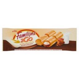 2Go Wafelek pełnoziarnisty mleczno-czekoladowy