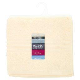 Ręcznik łazienkowy 50 cm x 90 cm kremowy
