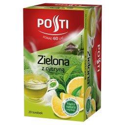 Zielona z cytryną Herbata aromatyzowana 36 g (20 torebek)