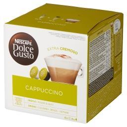Dolce Gusto Cappuccino Kawa i mleko w kapsułkach 186,4 g (8 x 17 g i 8 x 6,3 g)
