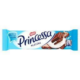 Mleczna Wafel przekładany kremem kakaowym oblany mleczną czekoladą