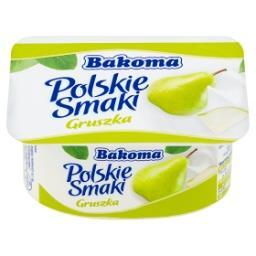 Polskie Smaki Deser jogurtowy z gruszkami