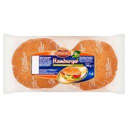 Hamburger Pieczywo pszenne  (4 sztuki)