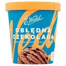 Lody obłędna czekolada z wedlowską czekoladą deserow...