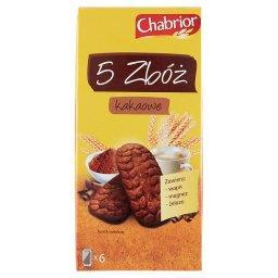 5 Zbóż kakaowe Ciastka zbożowe