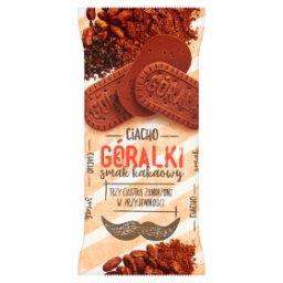 Smak kakaowy Ciastka w polewie mleczno-kakaowej