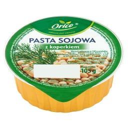 Pasta sojowa z koperkiem