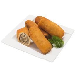 Krokiety z kapustą i grzybami