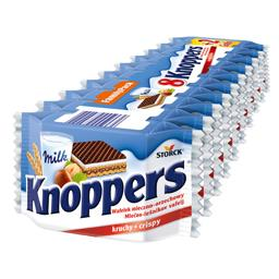 Knoppers 250g (8+2 gratis)