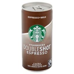 Doubleshot Espresso Mleczny napój kawowy