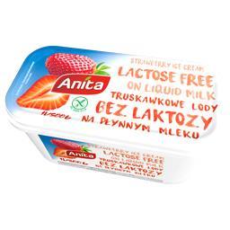 Lody truskawkowe bez laktozy 1l