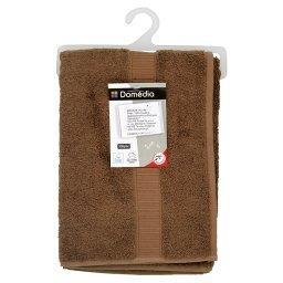 Ręcznik 70 x 140 cm brązowy