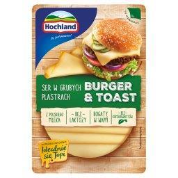 Burger & Toast Ser w grubych plastrach  (4 sztuki)