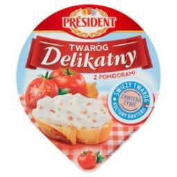 Twaróg Delikatny z pomidorami