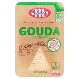 Ser Gouda z ziołami premium