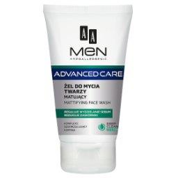Men Advanced Care Żel do mycia twarzy matujący 150 ml