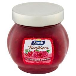 Konfitura z czerwonych owoców