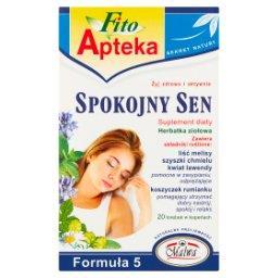 Suplement diety herbatka ziołowa spokojny sen  (20 x...