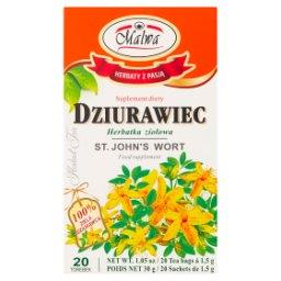Dziurawiec Suplement diety Herbatka ziołowa 30 g (20 torebek)