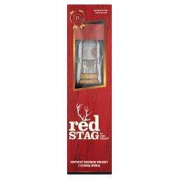Red Stag Zestaw Kentucky Bourbon Whiskey z czarną wiśnią  + szklanka