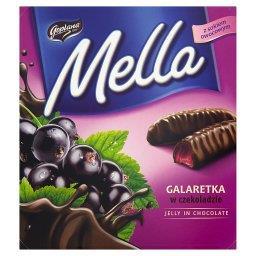 Mella Galaretka w czekoladzie o smaku czarnej porzeczki
