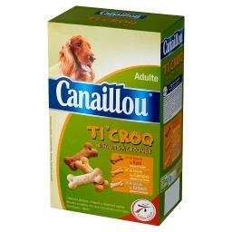 Ti' Croq Ciasteczka zbożowe z dodatkiem wapnia i mięsem Uzupełniająca karma dla dorosłych psów