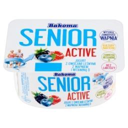 Senior Active Jogurt z owocami leśnymi z wapniem i witaminą D