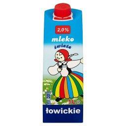 Mleko świeże łowickie 2,0% 1 l