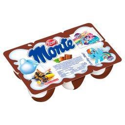 Monte Deser mleczny z czekoladą i orzechami 330 g (6 x )