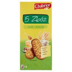 5 Zbóż miód i orzechy Ciastka zbożowe