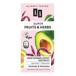 Super Fruits&Herbs krem dzienno-nocny odżywczy jędrność + świeżość 50 ml