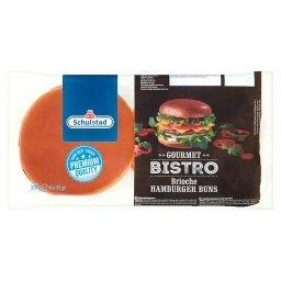 Gourmet Bistro Bułki pszenne do hamburgerów 324 g (4 x )