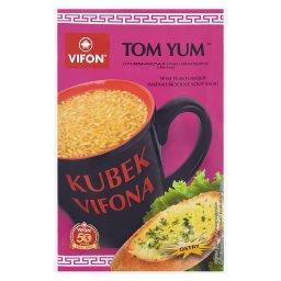 Kubek a Tom Yum Zupa błyskawiczna o smaku krewetkowym z kluskami ostra