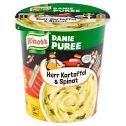 Herr Kartoffel & Spinat Danie puree
