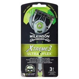 Xtreme3 Ultra Flex Jednorazowe maszynki do golenia 3 sztuki