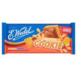 Cookie Czekolada mleczna z nadzieniem peanut butter i herbatnikiem