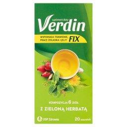 Fix Suplement diety kompozycja 6 ziół z zieloną herb...