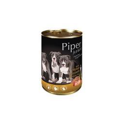 Mokra karma dla psa junior Piper z żołądkami kurczaka i ryżem 400 g