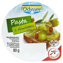 Pasta z oliwkami