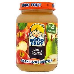 Smaki Dzieciństwa Jabłko gruszka po 4 miesiącu