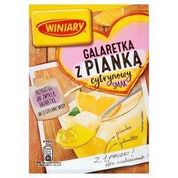 Galaretka z pianką cytrynowy smak