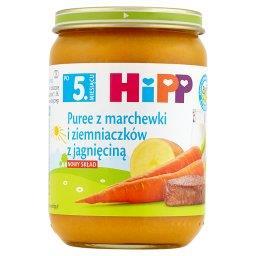 BIO Puree z marchewki i ziemniaczków z jagnięciną po 5. miesiącu
