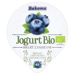 Jogurt Bio z jagodami