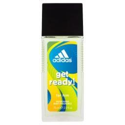 Get ready! Odświeżający dezodorant z atomizerem dla mężczyzn