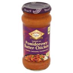 Indyjski sos pomidorowy Butter Chicken z masłem śmietanką i kardamonem
