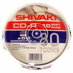 Płyta CD-R, 10szt